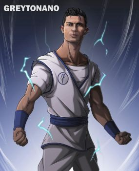 Cristiano Ronaldo Mystic - Real Madrid by greytonano