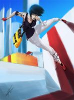 Mirror's Edge - Faith by Sadamoto