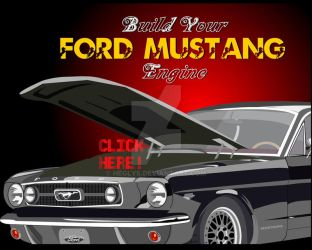 Mustang Engine puzzle game by heglys