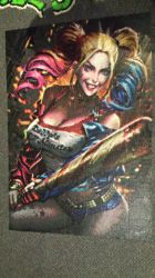 Harley Quinn Suicide Squad Perler by Spevial101