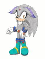 Chrono The Hedgehog by RedFire199-S