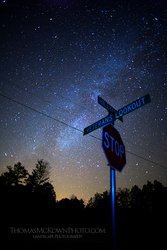 Night Sign by ThomasMcKownPhoto