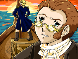 Master and Commander fanart by eeveelover