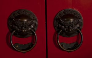 Traditional Chinese Door Knob by analogdude