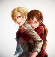 [Resident evil (ask)] I'm home. by ProtoRC