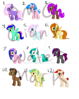 Adoptable set (OPEN) (LOWERED PRICES) by Couratiel