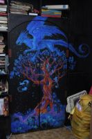 Dragon tree by DalfaArt