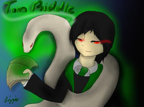 The Diary of Tom Riddle by Dianthus07