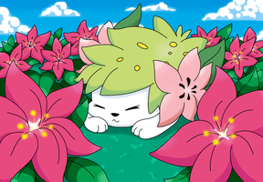 Shaymin by DragoonForce2