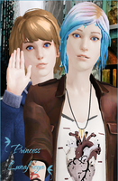 Chloe and Max by Highwind-Redfield