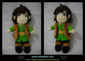 Hiccup - HTTYD - Plushie by renealexa-plushie