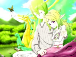 FE:A Avatar and Nowi's Mother's Day Picnic(effect) by Nowiismywife