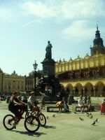 Krakow - Old Town Square by HappyTry