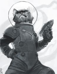 Captain Space Cat by StudioSmugbug
