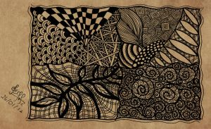 Zentangle by gisellemendes