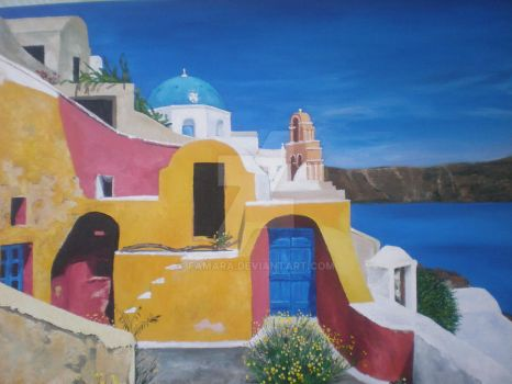 Santorini (Greece) by Famara
