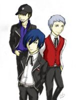 The Boys of P3 by evanae