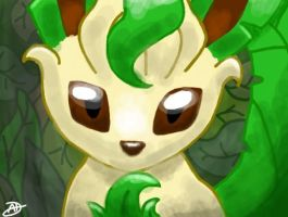 Leafeon 4 by Icognito-chan
