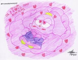 REmake I love you Numn Nums by murumokirby360