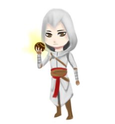 Chibi Altair by wolffriends