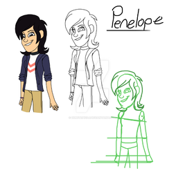 Penelope Robinson- Daughter of Wilbur and Violet by DubstepicDJ