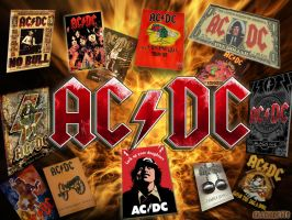 ACDC Wallpaper by killddianette