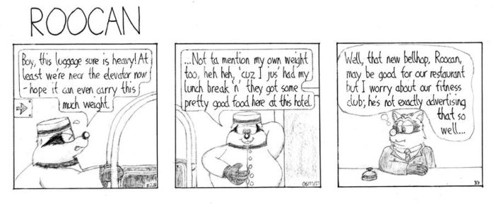 Roocan Strip 228 by BruBadger