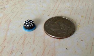 Quarter Inch Scale Chocolate Cake by Kyle-Lefort