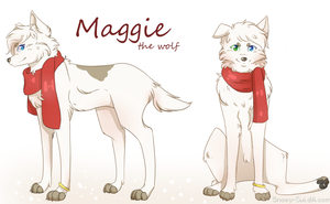 Maggy reference sheet by suyorii