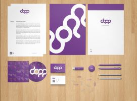 Stationery  Branding Mock-Up PSD Free by phfe