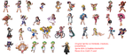 Barefoot Trainers Sprite Edits by bubbles46853