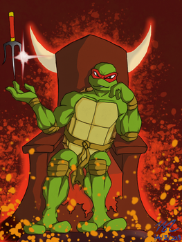 TMNT King of Red by L4Dragon