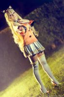 SeeU from Vocaloid by GianlucaBini