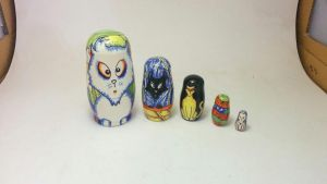 Russian Doll Mod - Cats by chaitanyak