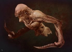 Creature speed painting by andreabianco