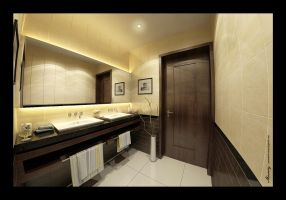 Utaibi House BathRoom 2 by mohamedmansy