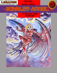 Scarlet Angel #1 by mephron