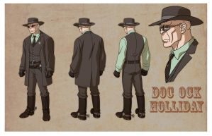 USM: DOC OCK HOLLIDAY by Jerome-K-Moore