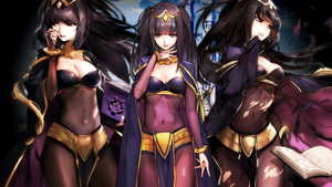 Fire Emblem Heroes - Tharja Wallpaper by AuroraMaster