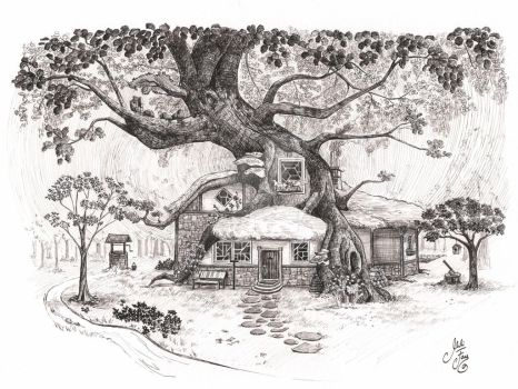 WofV_Chapter 01: Cornelian's Cottage by artofMilica