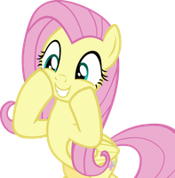 Happy Fluttershy by IronM17