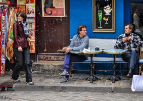 Instant at  Place du Tertre by Rikitza