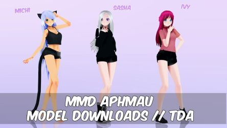 [MMD] TDA Aphmau Model Pack + Download by TravisMMD
