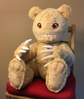 Hollow the Bear by HollyIvyDesigns