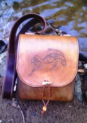 Leather Satchel by Half-Goat