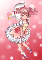 Madoka - Colored by iTiffanyBlue