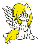 [MLP] Cute angel (+speedpaint) by Klawiee
