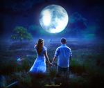 You are my moon by Ahmed-Rashad-Art