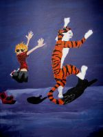 Calvin and Hobbes - Goya Style by Flooboo