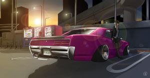 1967 GTO by Spoonboy